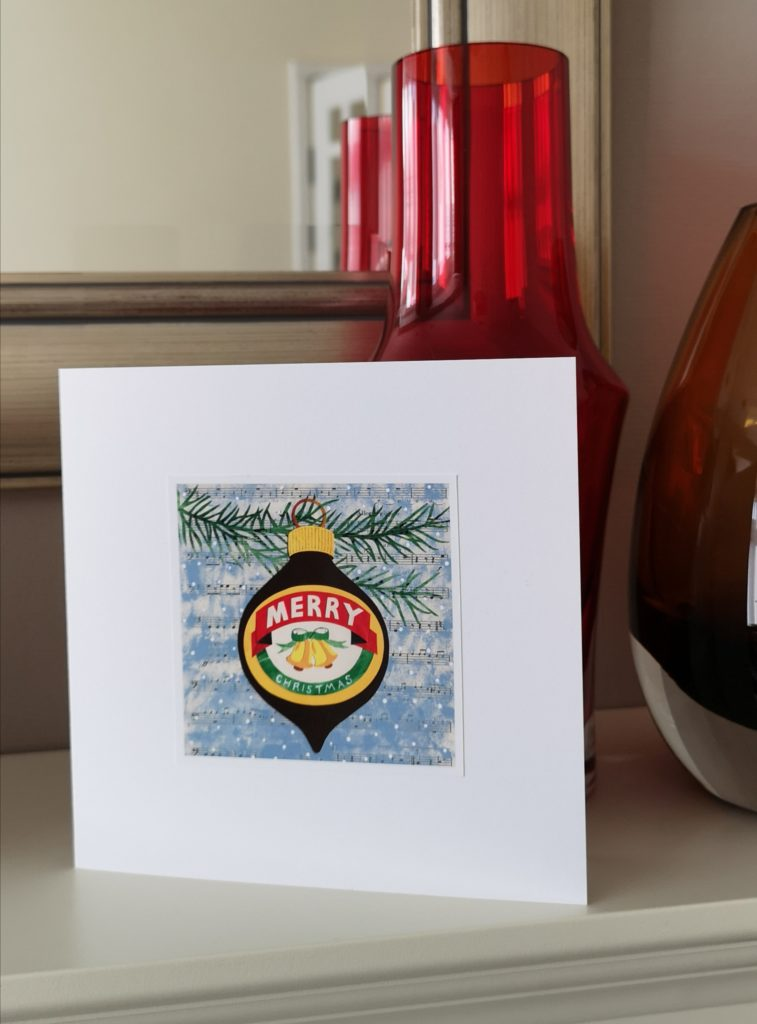 Marmite Christmas card