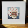 Poole Jug and Midwinter Galaxy Plate Collage by Victoria Whitlam