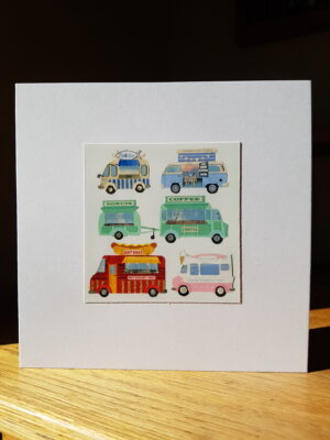 Greeting Card : Food Trucks