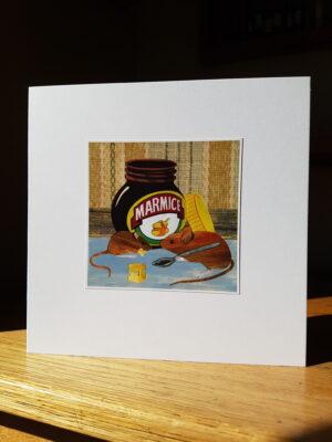 Greeting Card : Marmice