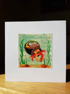 Greeting Card : Hermite
