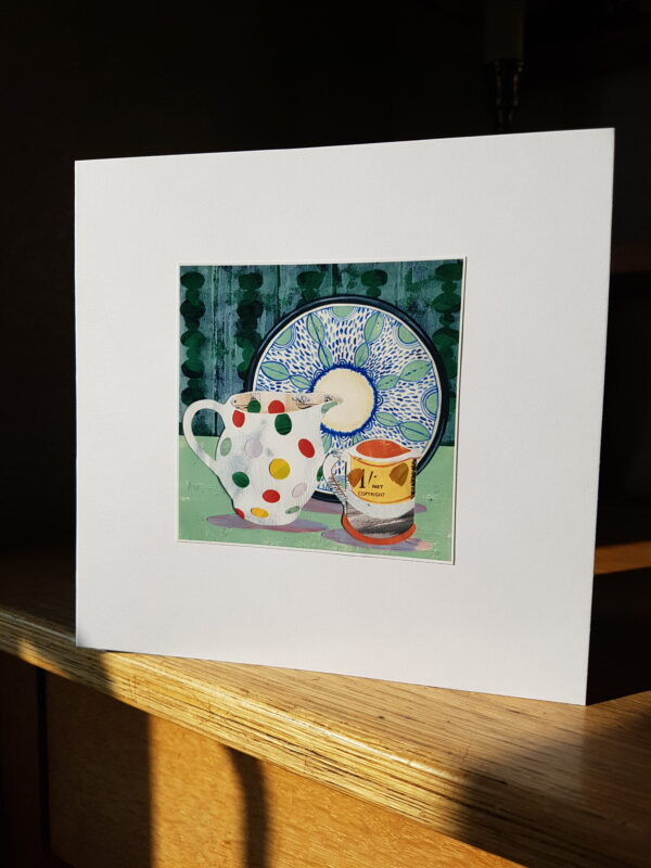 Bridgewater Jug and Uys Bowl Collage by Victoria Whitlam