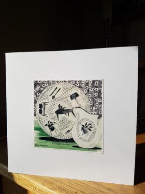 Greeting Card : Homemaker Plate and Jug