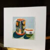 Kevin Warren Jug and Bowl Collage by Victoria Whitlam
