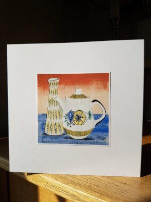 Greeting Card : Jessie Tait Midwinter Vase
