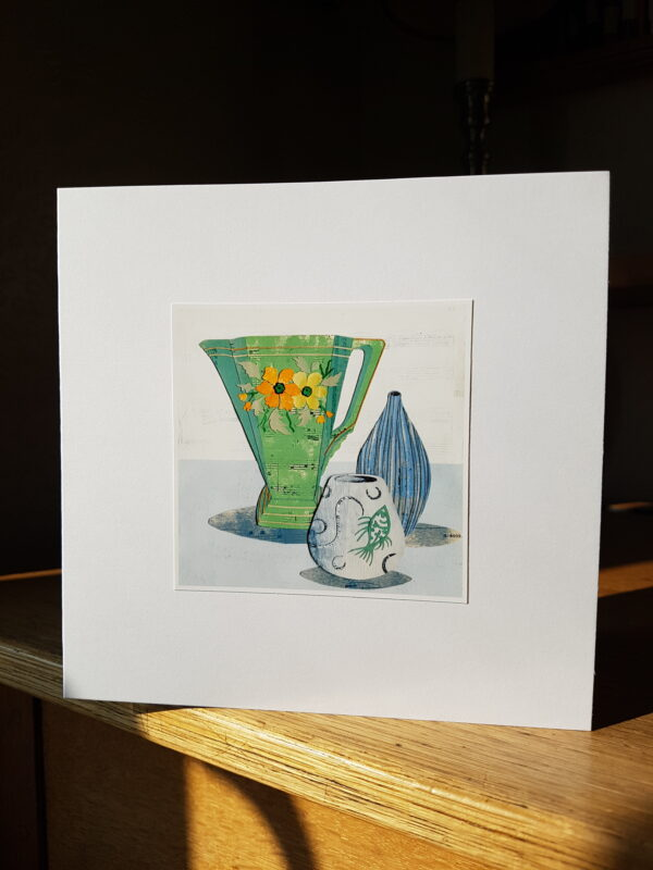 Santoy Gibsons Jug Collage by Victoria Whitlam