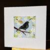 Blackbird and Blossom Collage bu Victoria Whitlam