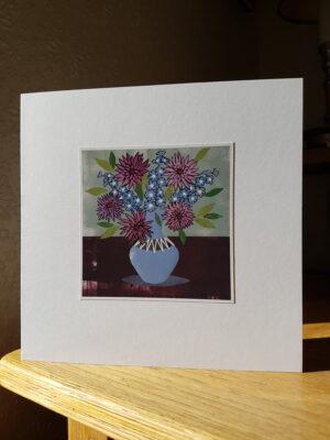 Greeting Card : Hornsea Clappison Slipware Vase