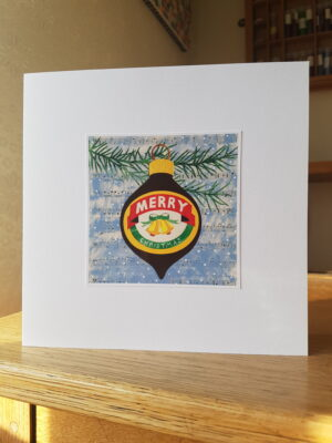 Greeting Card : Marmite Bauble